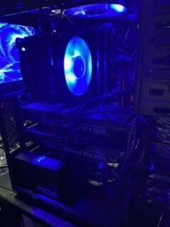 Focus GX gold 850 installed